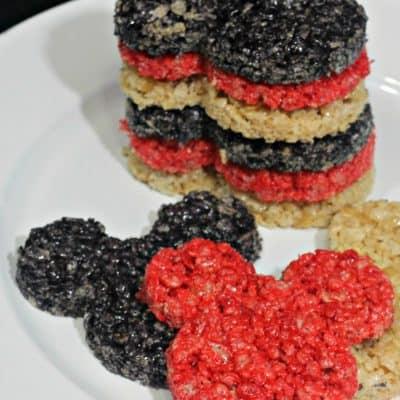mickey mouse Rice Krispie Treats