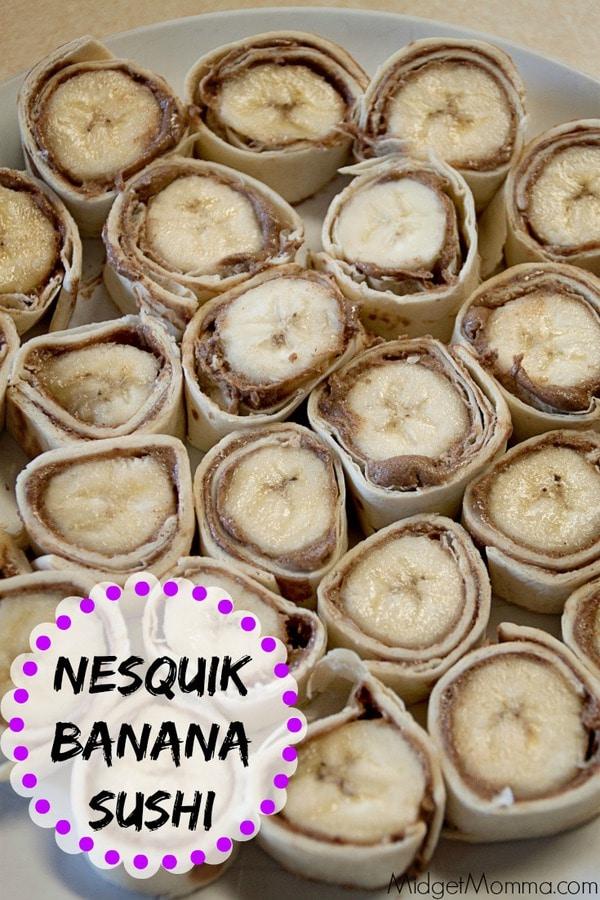 Nesquik Banana Sushi Snack Midgetmomma