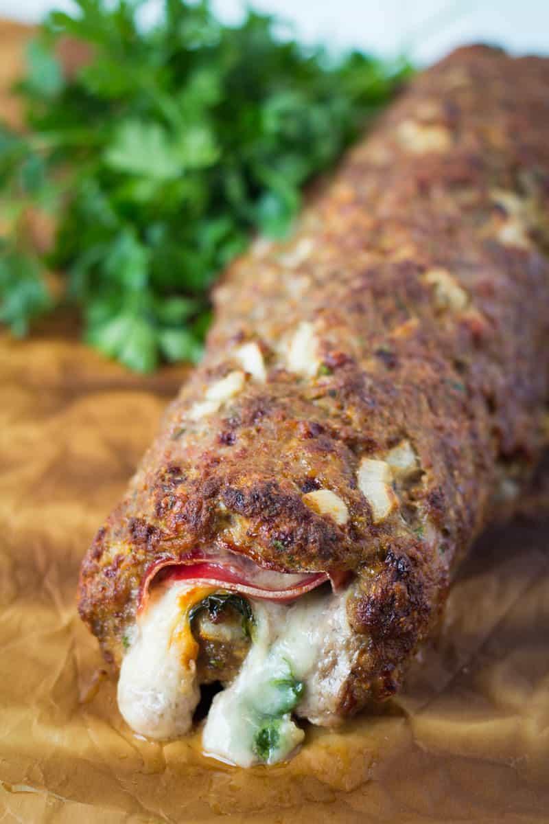 Italian Stuffed Meatloaf
