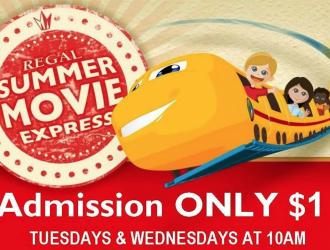 2016 Regal Cinema Summer Movies Schedule!