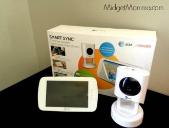 "Three Things I LOVE about the AT&T Smart Sync™ 5"" Internet  Viewable Touch Screen Video Monitor + Giveaway  ($349 Value!)!"