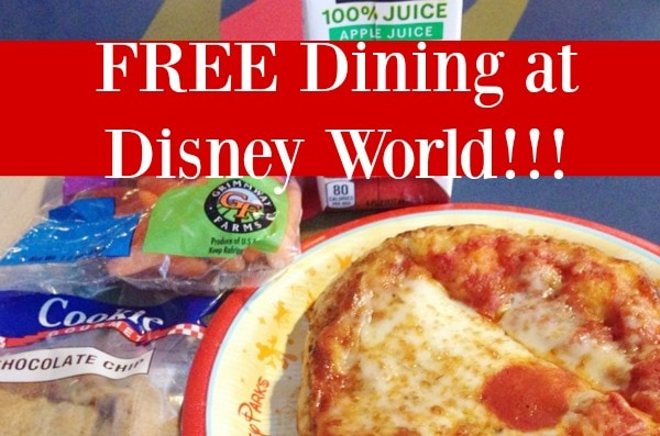 Free Dining Promotion At Disney World Starting Today: how to get free dining at disney