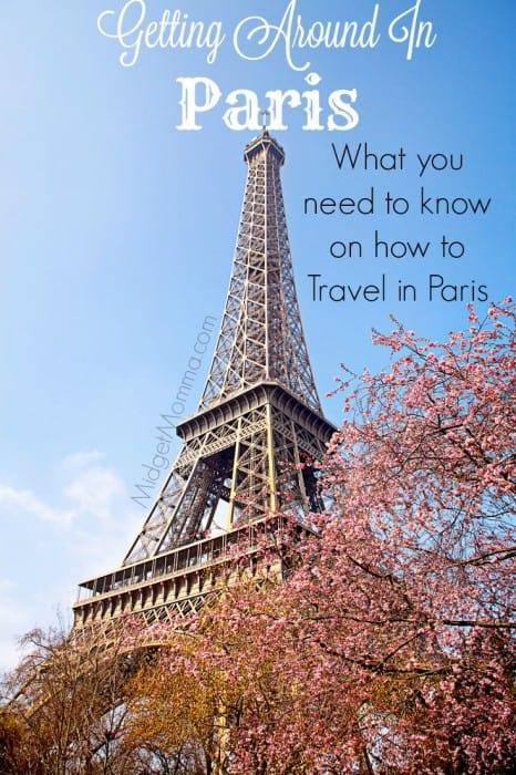 getting Around In Paris