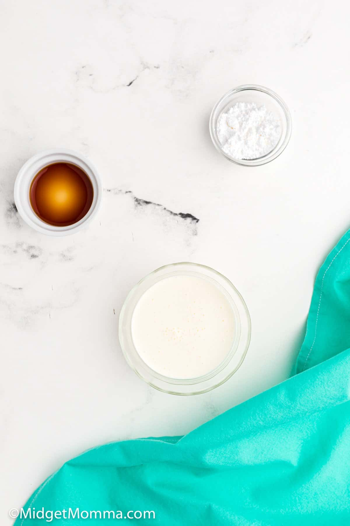 homemade whipped cream ingredients