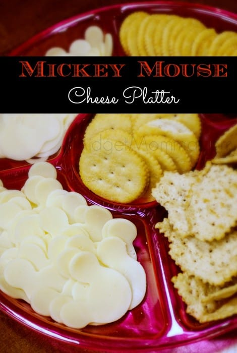 This Mickey Mouse Cheese Platter is perfect for any Disney party that you are having. Easy to make Mickey Mouse Cheese Platter for Disney Party