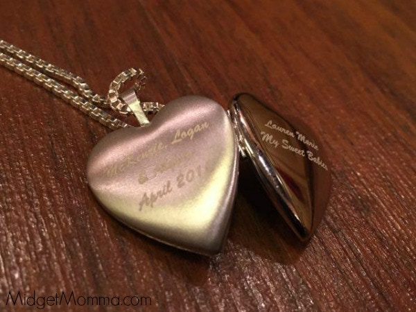 pictures on gold Pictures on Gold Sterling Silver 2 Photo Heart locket