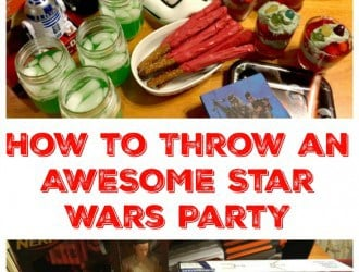 How to throw an awesome star wars party. Fun star wars snacks and star wars party food are important when having the perfect star wars party. Easy to make Star Wars party food that tastes great and the kids love! Star Wars Party food, Star Wars cupcakes, Star wars snacks, star wars themed cupcake, star wars themed food.