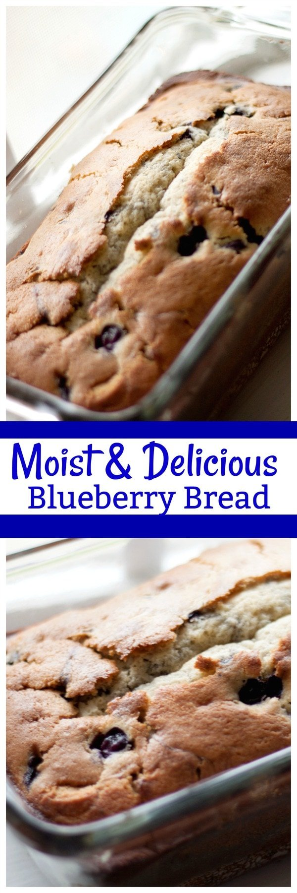 Moist Blueberry Bread Midgetmomma
