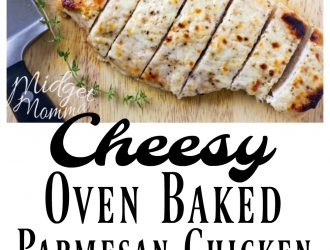 Cheesy Oven Baked Parmesan Chicken