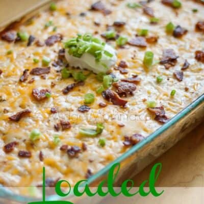 Loaded Chicken Potato Casserole. This Loaded Chicken Potato Casserole is perfect for a party, a potluck, or just dinner. Cheese, potatoes, chicken Yum!