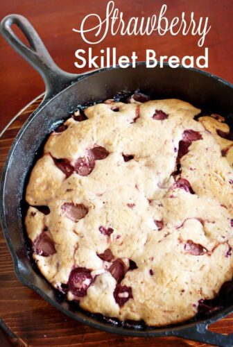 strawberry skillet bread