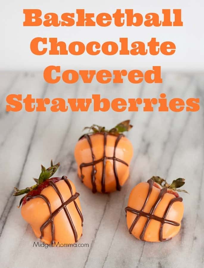 Basketball Chocolate Covered Strawberries Midgetmomma
