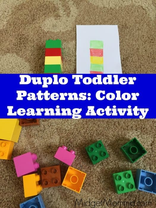 duplo pattern learning