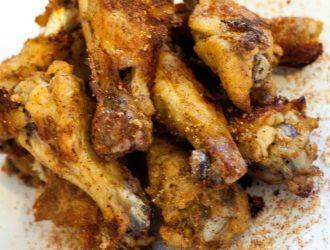Cajun Unfried Chicken Wings