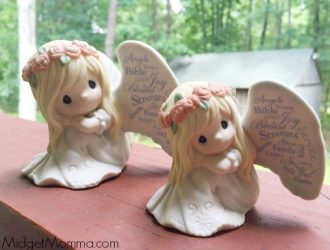 Precious Moments May Your Life Be Filled With Blessings figurine Out today! +  Giveaway!