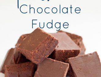Old Fashion Chocolate Fudge