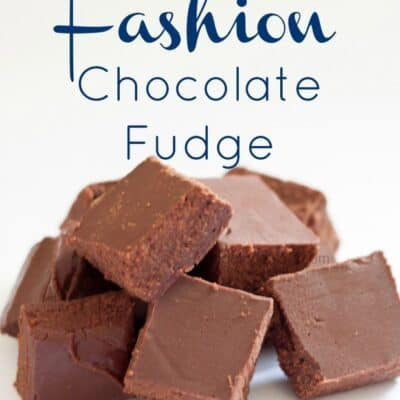 Old Fashion Fudge