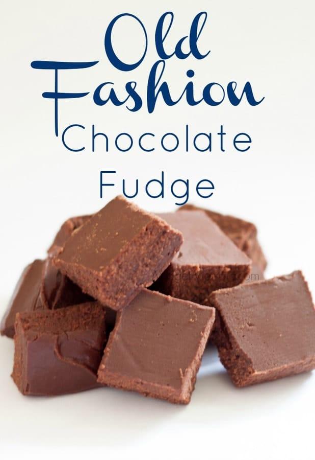 Old Fashion Fudge