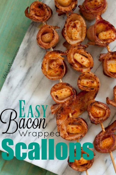 Bacon Wrapped Scallops 1