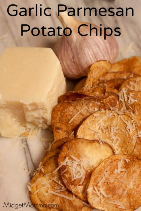 Garlic Parmesan Potato Chips
