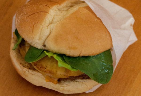 Juicy Hawaiian Burger 1