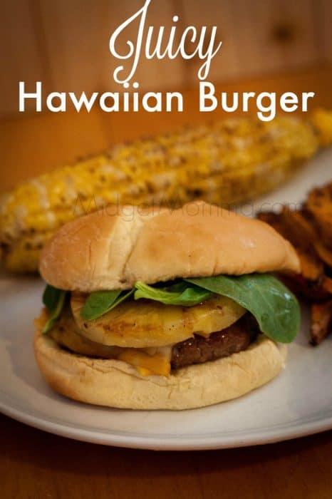 Juicy Hawaiian Burger