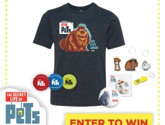 Secret Life Of Pets Comes to Theaters in July! +  Prize Pack Giveaway!!!