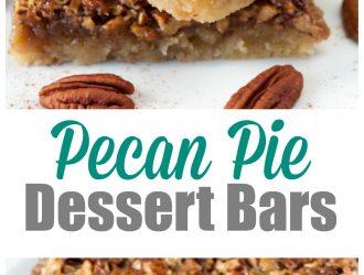 Pecan Pie Dessert Bars | Same Flavor as Pecan Pie with Half the work!