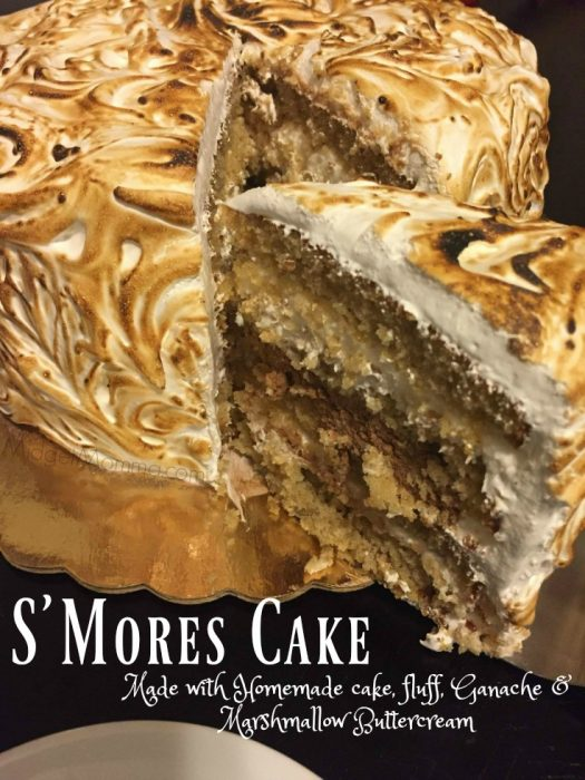 s mores cake