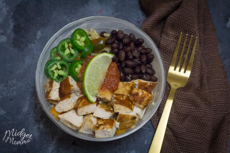 How to make Chicken Burrito Bowls