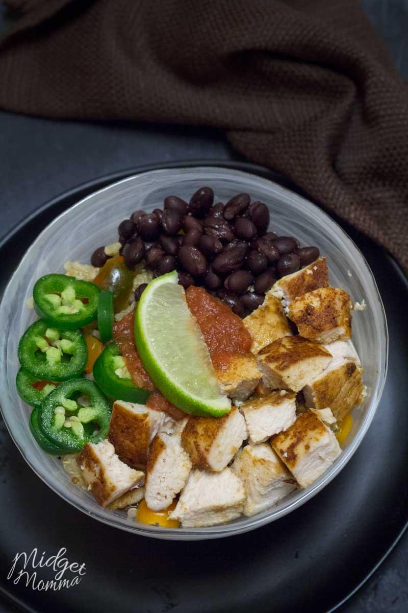 Quinoa Burrito Bowl