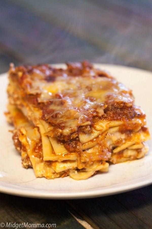 The Best Homemade Lasagna Recipe Midgetmomma