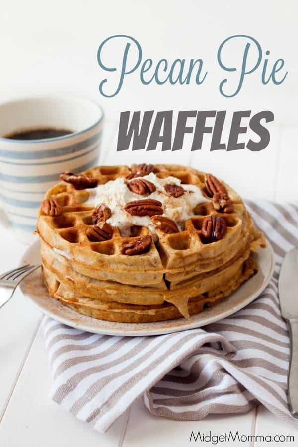 Pecan Pie Waffles