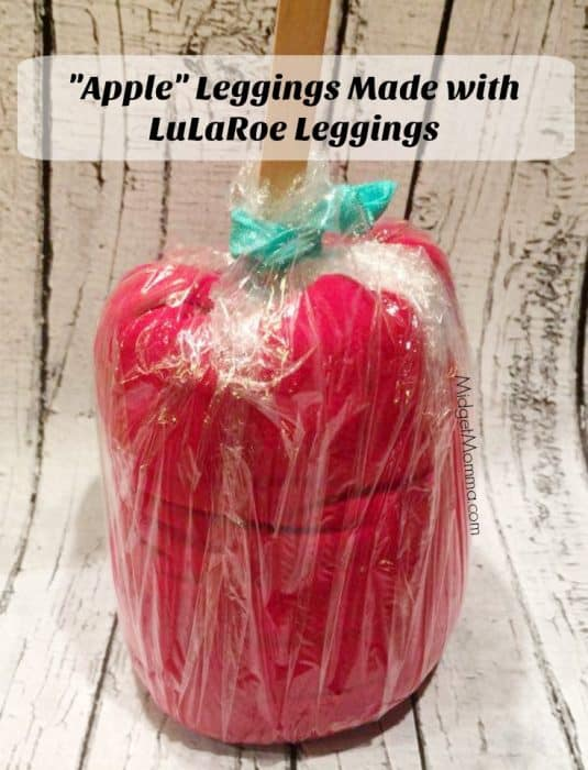 Leggings Apple made with lularoe leggings