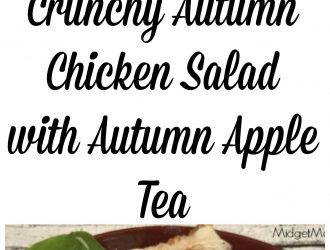 Crunchy Autumn Chicken Salad with Autumn Apple Tea