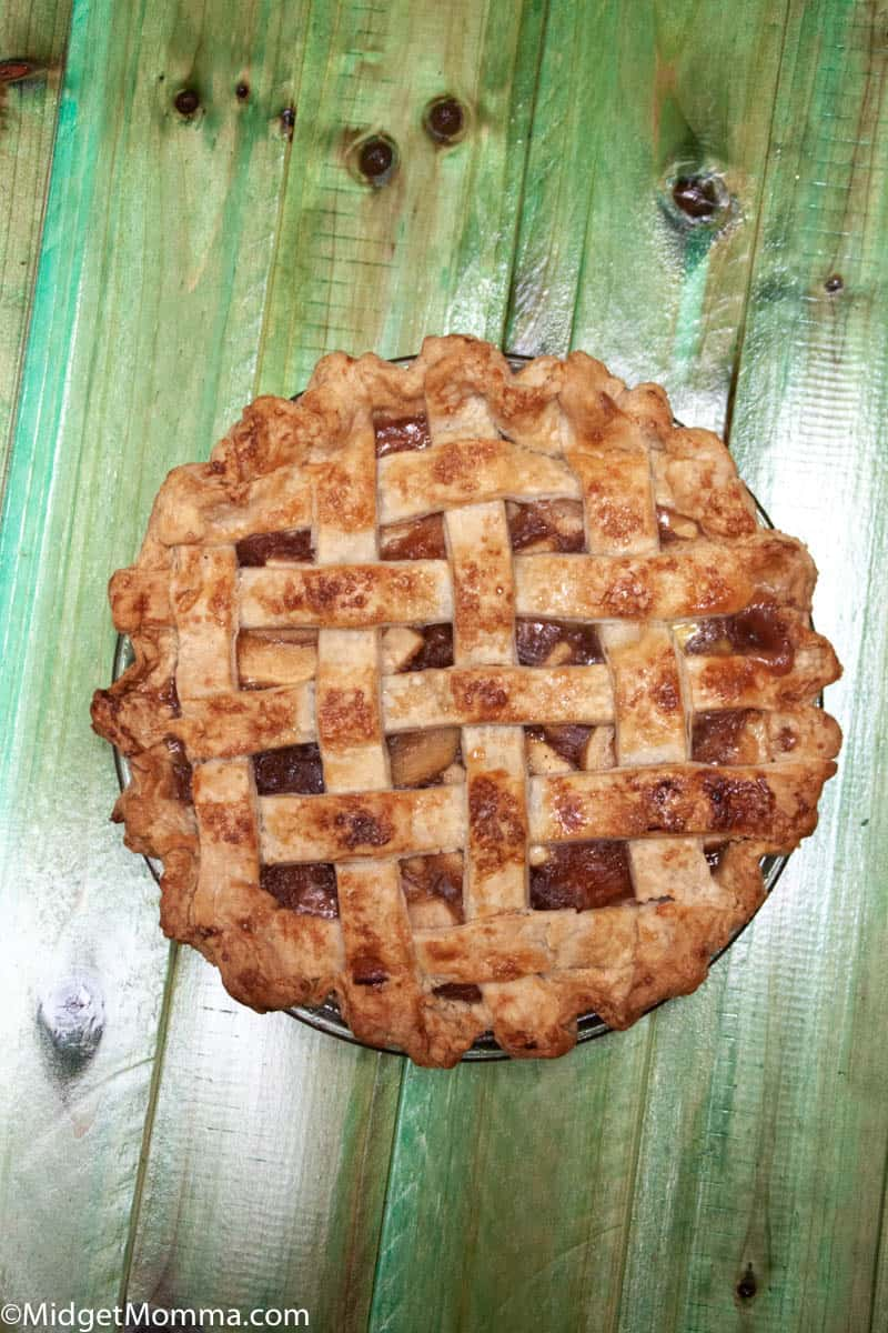 Lattices Crust Apple Pie