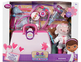 Doc McStuffins Toy Hospital Play Set with Lambie Plush Giveaway!