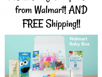FREE Baby Sample Box from Walmart! + FREE Shipping!!