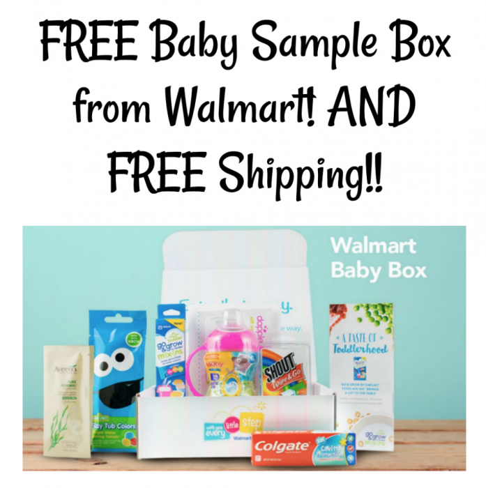 Baby Sample Box from Walmart