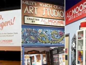 New Milly's Which Craft Studio at Garden State Discovery Museum!