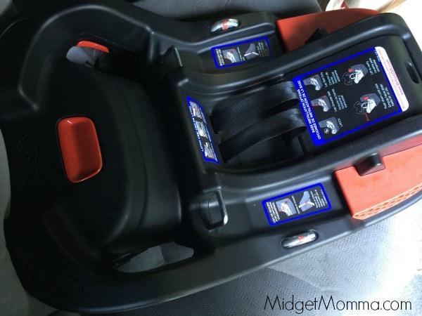 Britax B Safe  Xe Series Infant Car Seat On Bmw