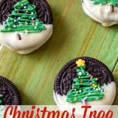 Christmas Oreo - Christmas Tree Oreos