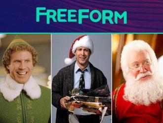 Freeform 25 Days of Christmas 2016 Movie Schedule