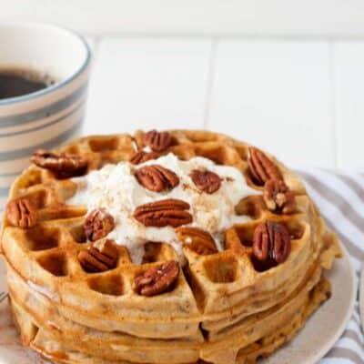 pecan waffles recipe easy