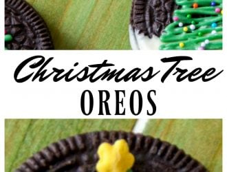 Christmas Tree Chocolate Covered Oreos