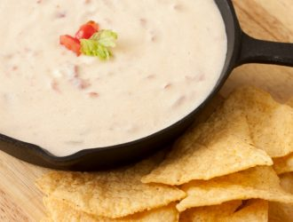Crock Pot White Cheddar Queso {Keto Friendly & Low Carb}