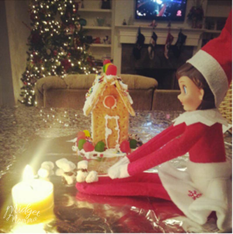 Elf on the Shelf Ideas for Arrival