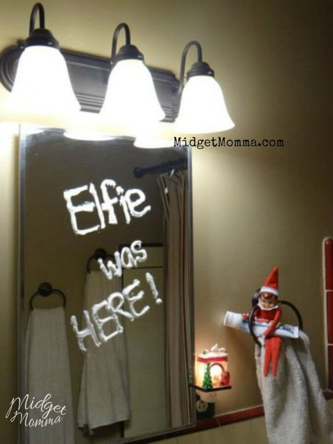 Quick Elf on the Shelf Ideas