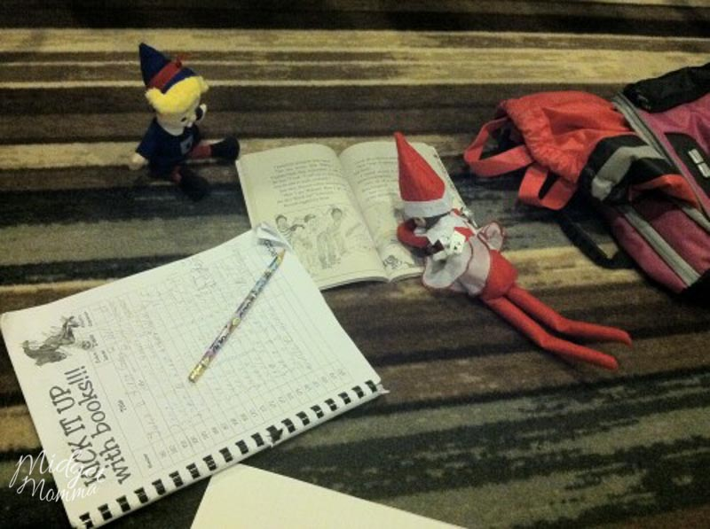 elf on the shelf classroom
