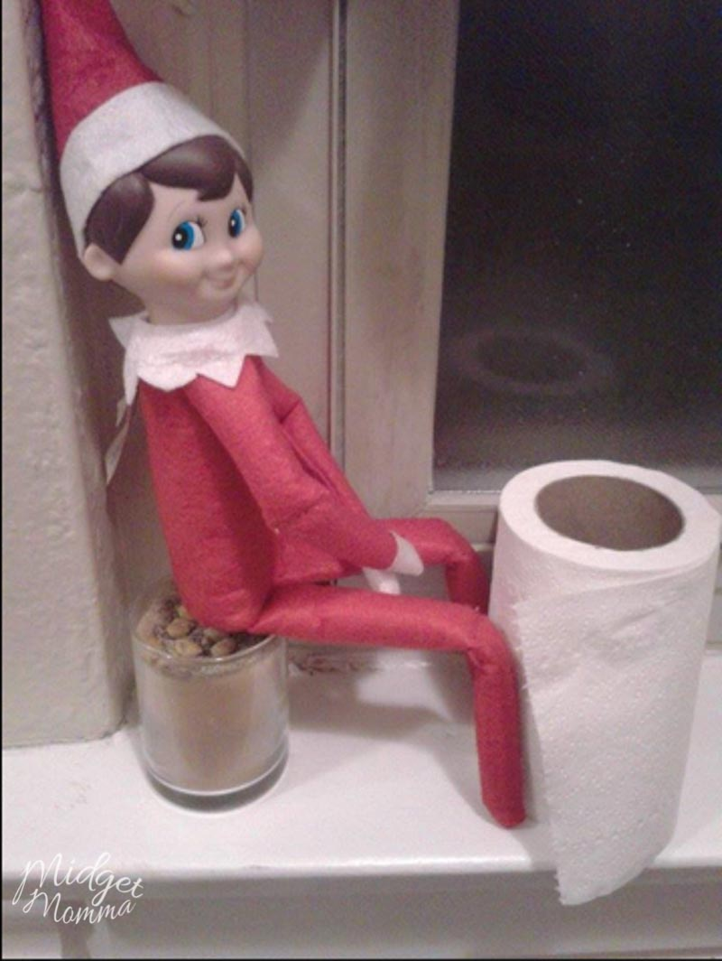HUGE list of 135 Easy Elf on the Shelf Ideas that are ALL Fun